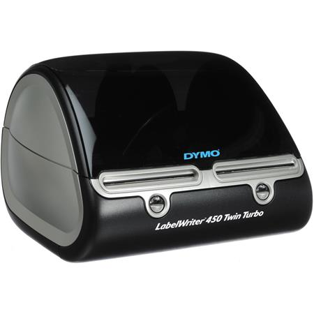 Dymo LabelWriter 450 Twin Turbo Label Printer with 600 x 300 dpi Resolution for Windows XP/Vista or Mac OS image