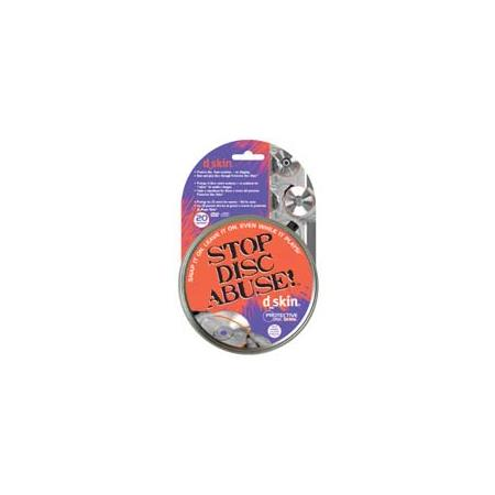 D-Skin Disc Skin Protective Skin for CD's and DVD's Discs - Pack of 20