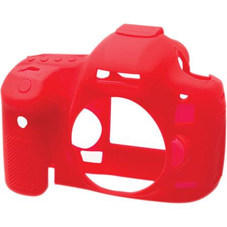 easyCover EA-ECC5D3R Silicon Case for Canon EOS 5D Mark III Cameras, Red