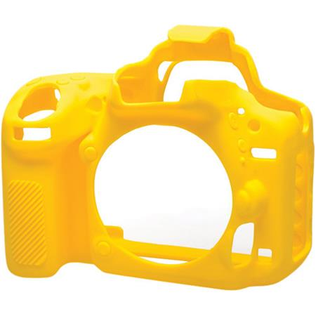 easyCover Silicone Protection Cover for Nikon D750 Camera, Yellow