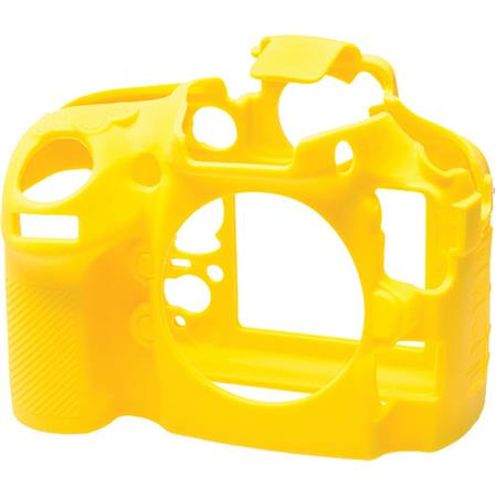 easyCover Silicone Protection Cover for Nikon D810 Camera, Yellow