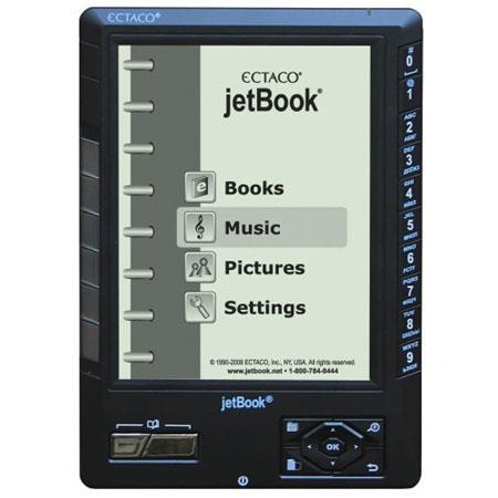 Ectaco Jetbook, eBook Reader - Graphite image