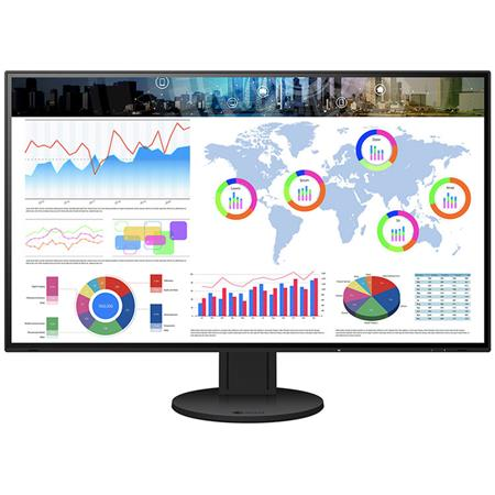 """Eizo Eizo EV3285 4K Ultra-Slim Frame 31.5"""" Wide Screen IPS LED Monitor with FlexStand and Integrated Speakers, Black"""