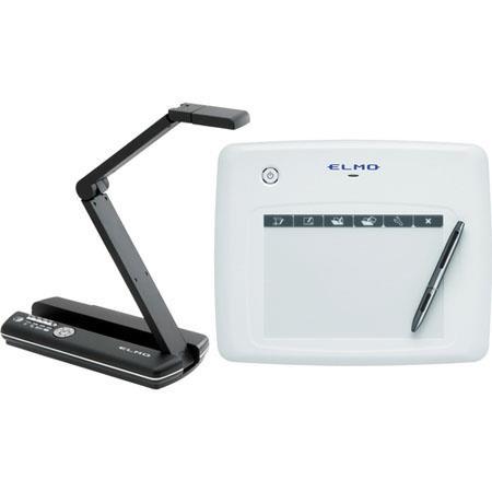 Elmo MO-1 Black Visual Presenter and CRA-1 Wireless Tablet