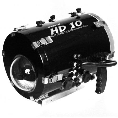 Equinox HD 10 Underwater Housing for Canon XLH1 and XLH1A and XLH1S Camcorders - Depth Rating: 200' / 61 m