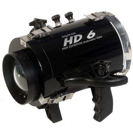 Equinox HD 6 Underwater Housing for Canon HV20, HV30, and HV40 Camcorders - Depth Rating: 250' / 75 m