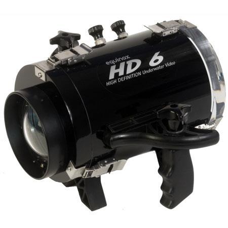 Equinox HD 6 Underwater Housing for Panasonic HDC-SD100 Camcorder - Depth Rating: 250' / 75 m