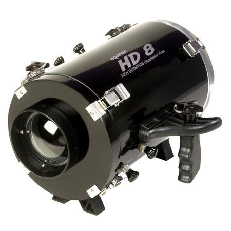 Equinox HD8 Underwater Housing for JVC GY-HM100U Camcorder - Depth Rating: 250' / 75 m