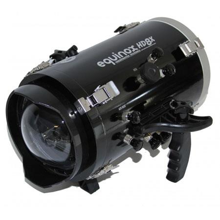 Equinox HD8X Underwater Housing for JVC GY-HM100U Camcorder - Depth Rating: 250' / 75 m