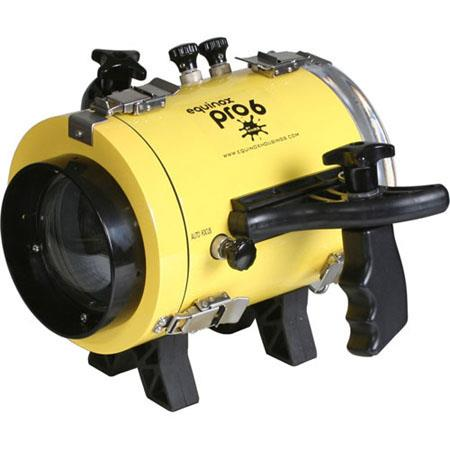 Equinox Pro 6 Underwater Housing for Canon DC310, DC320 and DC330 Camcorders - Depth Rating: 250' / 75 m