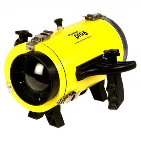 Equinox Pro 6 Underwater Housing for Canon FS-21, FS-22 and FS-200 Camcorders - Depth Rating: 250' / 75 m