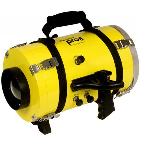 Equinox Pro 8 Underwater Housing for Panasonic AG-DVX100B Camcorder - Depth Rating: 250' / 75 m