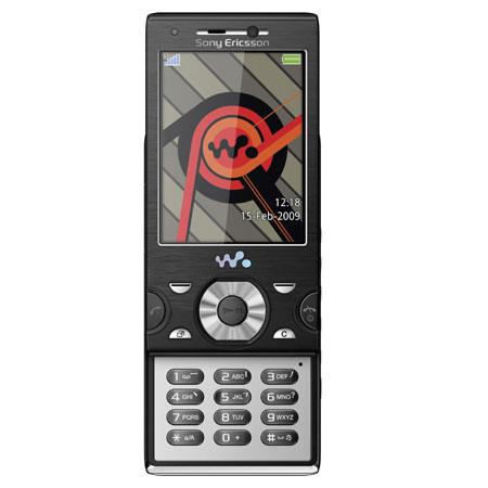 Sony Ericsson W995A Unlocked Walkman Cellular Phone with 8.1 Megapixel Camera, GSM Technology, Black image