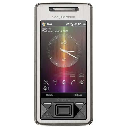 Sony Ericsson Xperia X1 Unlocked Smartphone with 3.2 Megapixel Auto Focus Camera, GSM Technology, Silver image