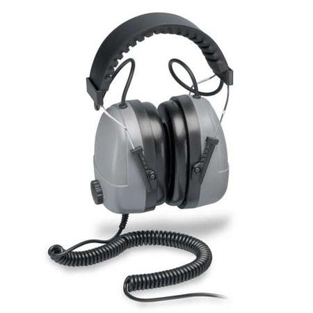 Elvex Com-611 Plug-In Receiver Earmuff with 3.5mm Stereo Plug, 85dB Limiter
