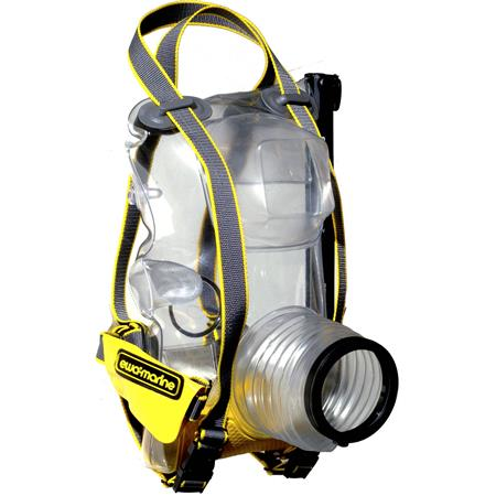 Ewa-Marine U-BXP100 Underwater Housing for Large Pro Digital SLR's with Wider Lens Diameters (Max: 82mm)  Shoe Mounted Flash, Dive Depth to 50m /155'