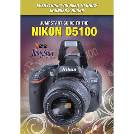 JumpStart DVD Video Training Guide For Nikon D5100 D-SLR Camera