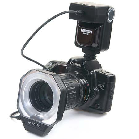 Adorama DRF-14 Macro Ring Flash Dedicated for Nikon iTTL Digital Cameras image