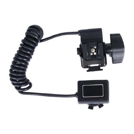 Adorama Off-Camera TTL Coiled Flash Cord for Pentax Digital SLR Cameras, with Flash Tilt Capability, Extends to 6'. image