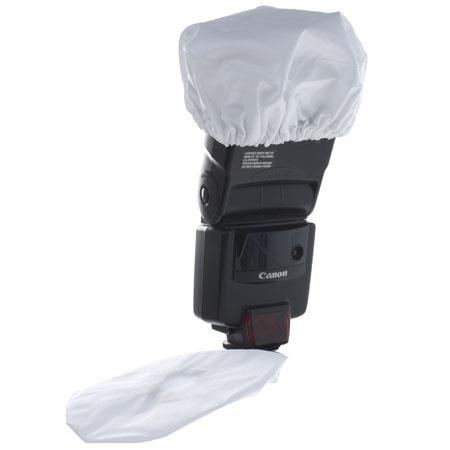 Adorama Strobo-Socks, Nylon Fabric Diffuser for Portable Strobes, Pack of 2. image