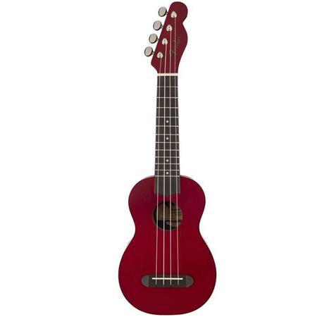Fender Venice Soprano Ukulele, Cherry,