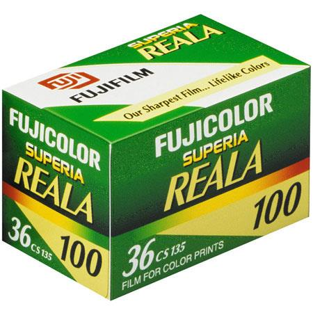 Fujifilm Fujicolor Superia Reala 100 Color Negative Film ISO 100, 35mm Size, 36 Exposure, CS-36 image
