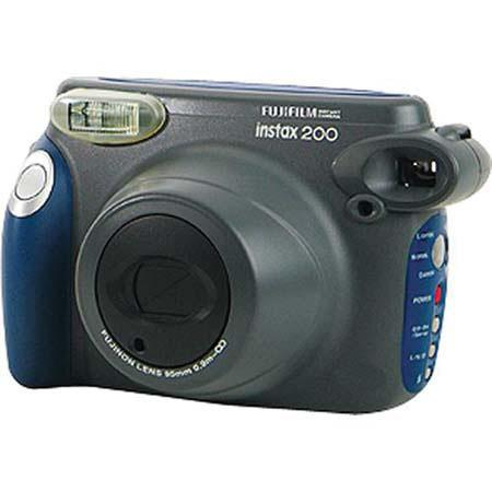 Fujifilm Instax 200 Instant Photo Camera with 95mm Lens, Aperture Range Fixed (f/14) image