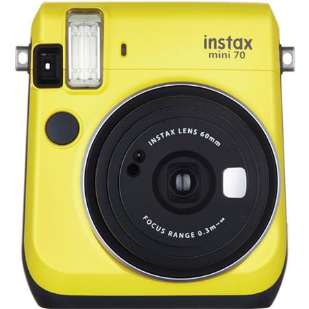 Fujifilm instax mini 70 instant film camera canary yellow for Housse instax mini 70