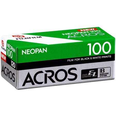 Fujifilm Neopan 100 Acros Black & White Film ISO 100, 120 Size image