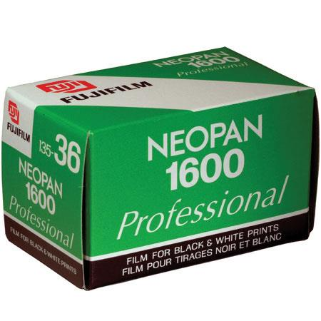 Fujifilm Neopan 1600 Black & White Film ISO 1600, 35mm Size, 36 Exposure image