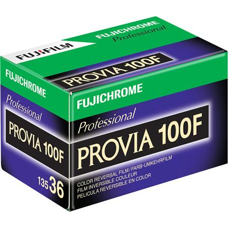 Fujifilm Fujichrome Provia RDP III 100F Color Slide Film ISO 100, 35mm Size, 36 Exposure, RDP-36, Transparency, U.S.A image