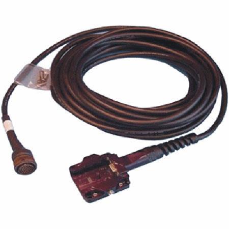 FLIR 100' QC/QD Triple Coax Cable, Shoe-mil