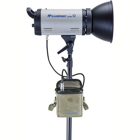 Flashpoint 1220m 150 Watt Ac Dc Monolight Strobe W