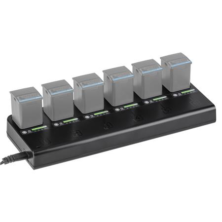 Flashpoint MB-6 Multi Battery Charger For the eVOLV 200 and eVOLV 200 Pro Pocket Flash