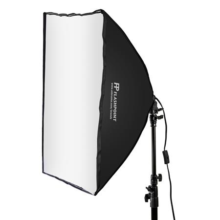 Flashpoint Softbox FPSSBK, 70Watt Fluorescent Light FPSSBK