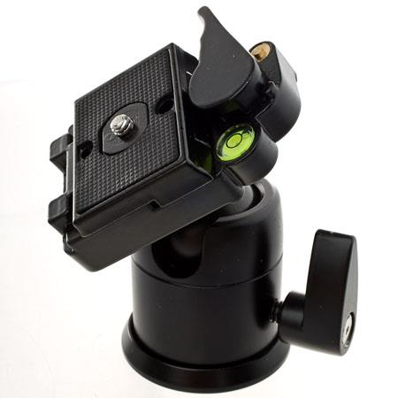 Flashpoint Ball & Socket Head with Removable Quick Release Platform, Supports 5lbs. image