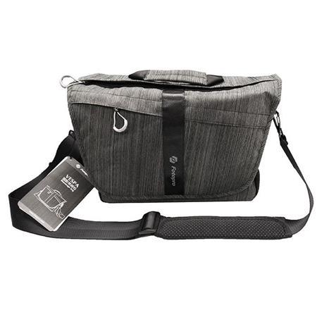 FotoPro Vespa Messenger Bag, Charcoal