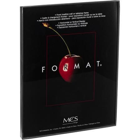"MCS Plastic Format Frame for a 11"" x 14"" Photograph, Color; Black image"