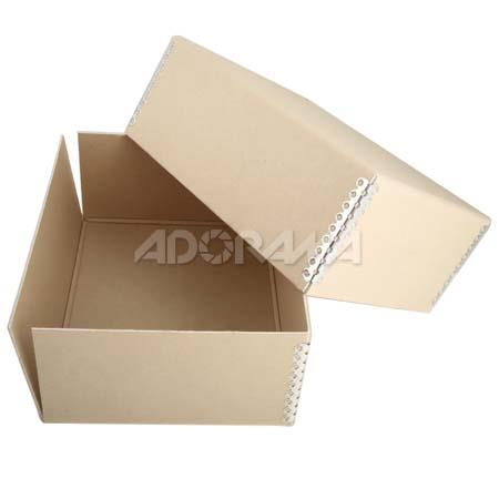 "Adorama Archival 5"" x 7"" Print Storage Box, Drop Front Design, 5 1/2"" x 7 1/2"" x 3"" image"