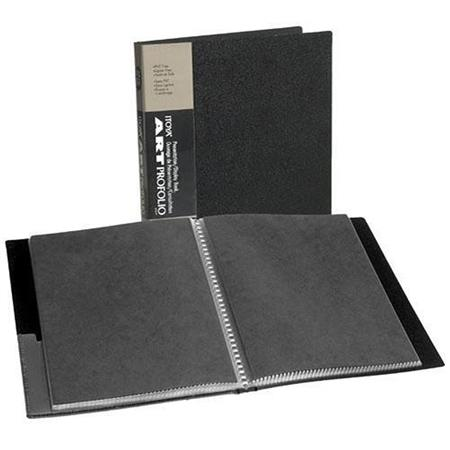 "Itoya Archival Art Profolio Presentation Book with Twenty Four 4"" x 6"" Pocket Pages, 48 Views. image"