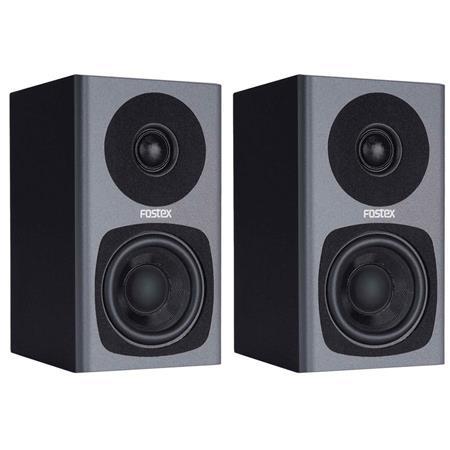 "Fostex Class-D 3"" 2-way studio monitors"