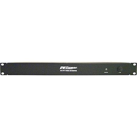 Panamax D10-PFP Rackmount Power Distributor, Compact, 10 Outlets with Circuit Breaker D10PFP