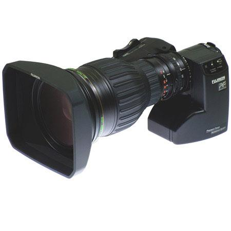 "Fujinon HA22x7.3BRD 7.3-161mm f/1.9-2.7 2/3"" High Definition Lens for ENG/EFP Cameras, 22x Zoom Ratio, Digital Servo Zoom & Focus"