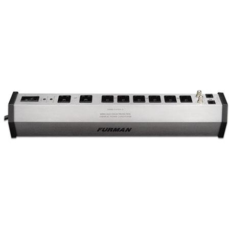 Furman Sound Power Station PST-8 Home Theater Power Conditioner & Surge Protector, 8 Outlets, 2 Coax Pairs & Phone Line Protection