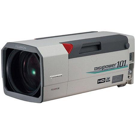 "Fujinon XA101X8.9BESM-T 8.9-900mm f/1.7-4.7 2/3"" HDTV Field Style Lens, 101x Zoom Range, 2x Extender, Dust Proof & Anti-Fog"