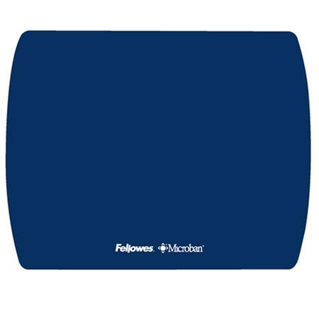 Fellowes Microban Ultra Thin Mouse Pad, Sapphire
