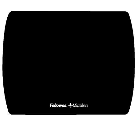 Fellowes Microban Ultra Thin Mouse Pad, Black