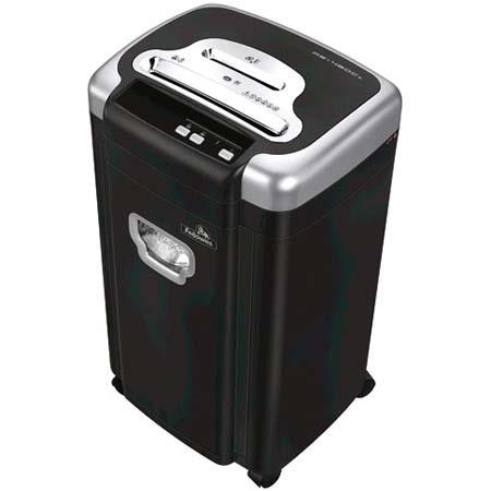 Fellowes MS-460CS Home/Office Micro-Shred Shredder, 10 Sheets at Once / 10 Ft/Min - 6.4 Gallon Basket image