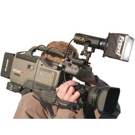 Frezzi MA24PTS 24 Watt HMI Mini Sun Gun with Sony Camera Power Tap Connector.