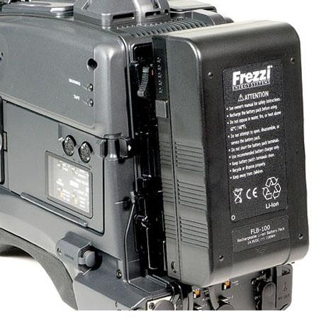 Frezzi FLB-100, 14.8 Volts DC, 100WH Lithium-Ion Battery with Meter for Anton Bauer Mount